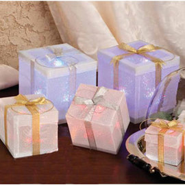 Hologram Color Changing LED gift box