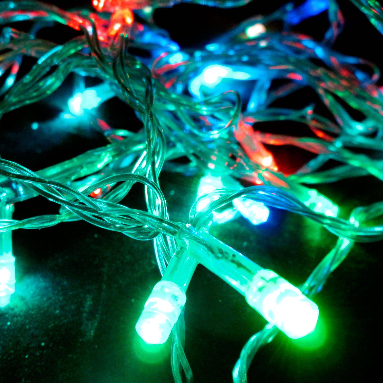 Lights.com String Lights Christmas Lights Color Changing 30 LED Battery String Lights