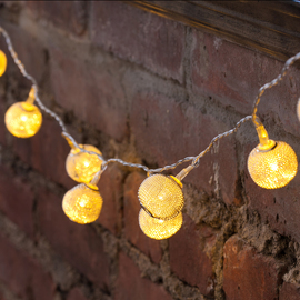 Mesh Battery Operated String Lights, Strand of 10