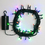 Multicolor 64 LED Battery String Lights with Timer