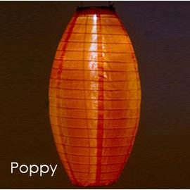 Soji Solar Pod Lantern, Poppy