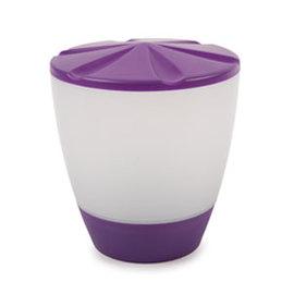 Turner Table Top Solar Rechargeable Lantern, Purple