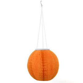 "Candy Series 12"" Solar Lantern, Orange"