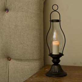 Bronze Olde Town Hurricane Lantern
