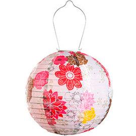 Limited Edition Soji Solar Lantern, Floral Bloom