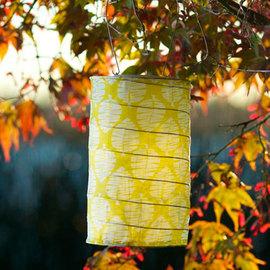 Limited Edition Soji Solar Lantern, Lime Leaf