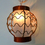 Old Tokyo Copper Lantern Expandable Plug-in String Lights, Strand of 10