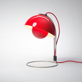 FlowerPot table lamp by Verner Panton VP4