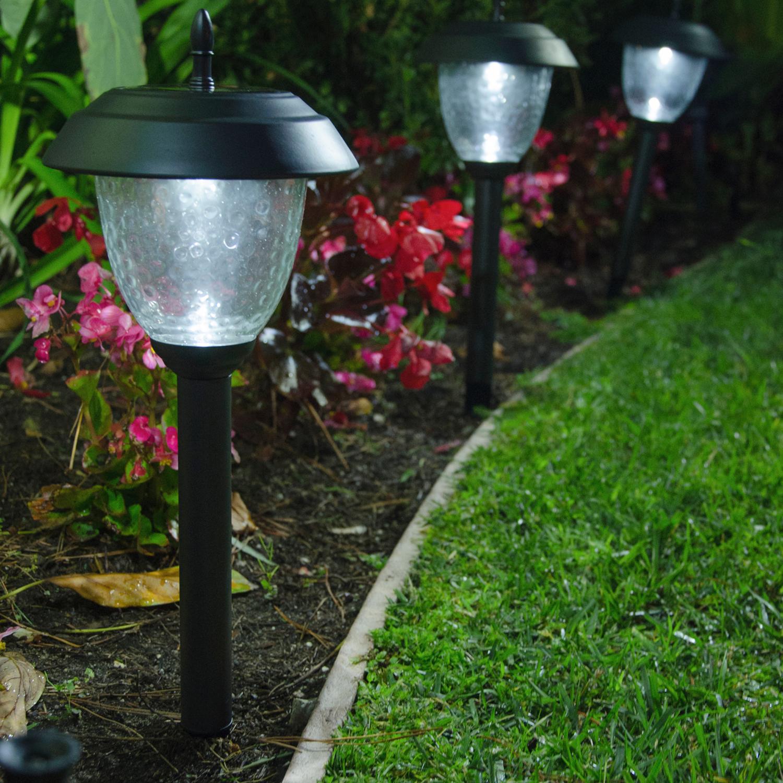 Best outdoor solar path lights best outdoor solar path for Outdoor landscape lighting sets