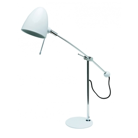 Curtis White Table Lamp