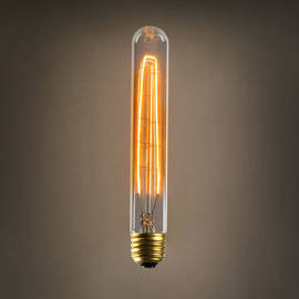 Cobble Hill T9 Vintage Edison Bulbs, 40W (E26) - Set of 4