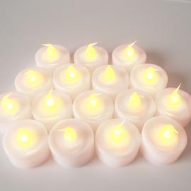 Extra Bright Battery Tea Lights, Set of 100