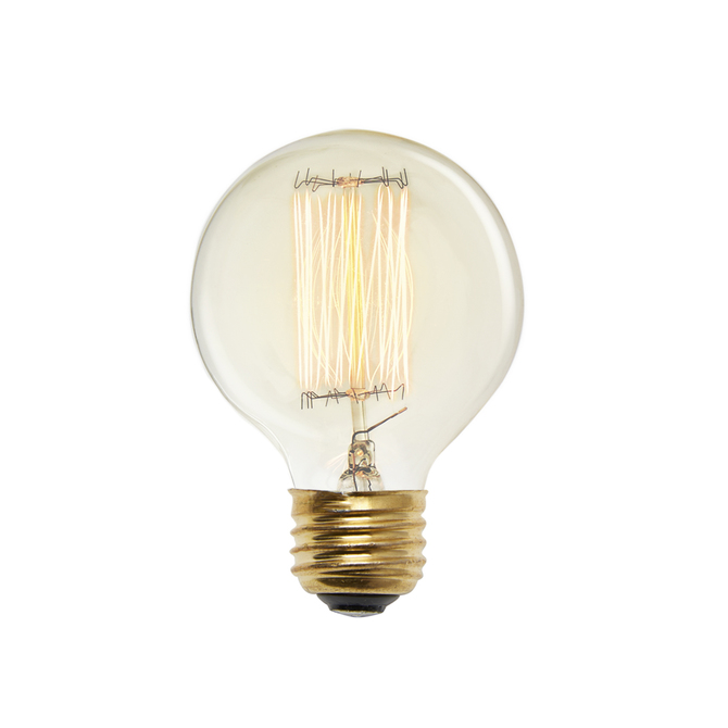 Midwood G25 Vintage Globe Bulb 40W (E26) - Set of 4