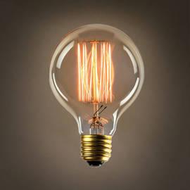 Midwood G25 Vintage Edison Bulb, 40W (E26) - Set of 4