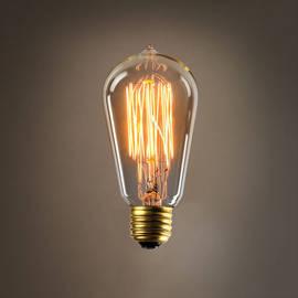 Bushwick ST18 Vintage Edison Bulbs, 40W (E26) - Set of 4