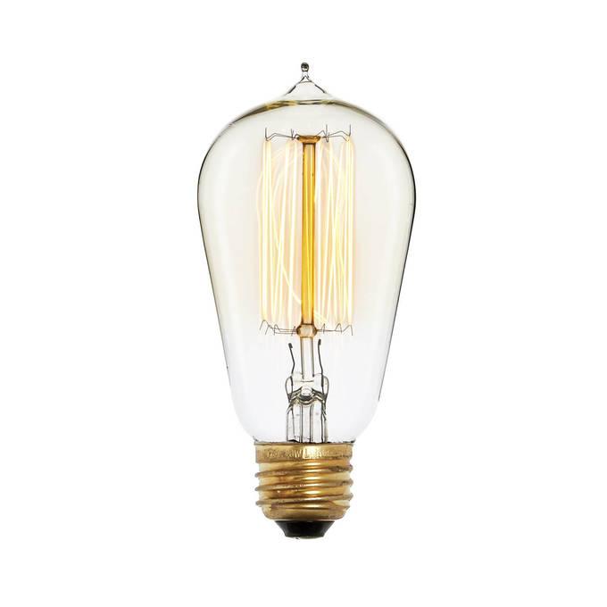 Bushwick ST18 Vintage Bulbs, 40W (E26) - Set of 4