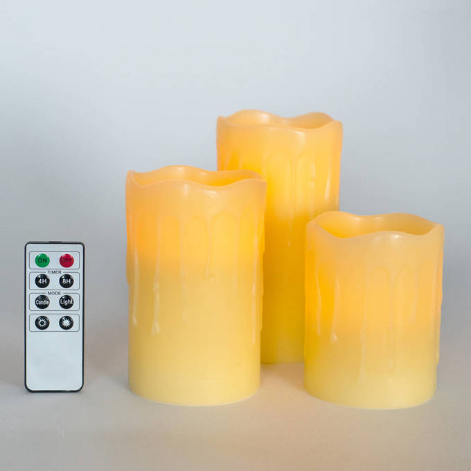 lightscom - Flameless Candles With Timer