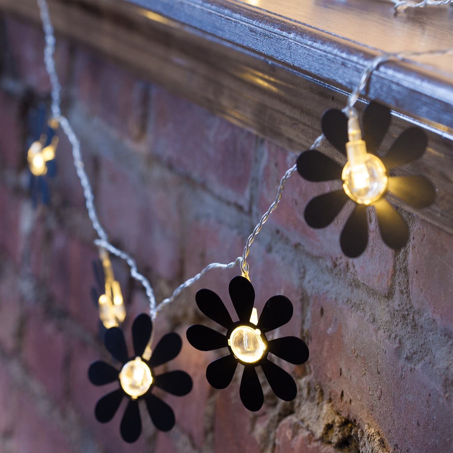 Daisy Solar String Lights: Decorative String Lights