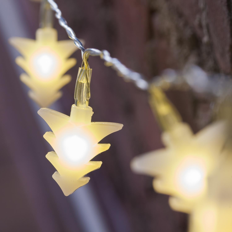 String Christmas Lights On Tree : Lights.com String Lights Christmas Lights White Tree LED Battery String Lights