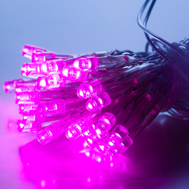 Pink Vivid Series 30 LED Battery String Lights