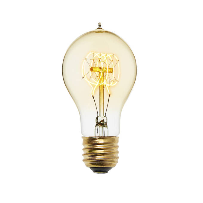 Coney Island A19 Vintage Bulbs 40W (E26) - Set of 4