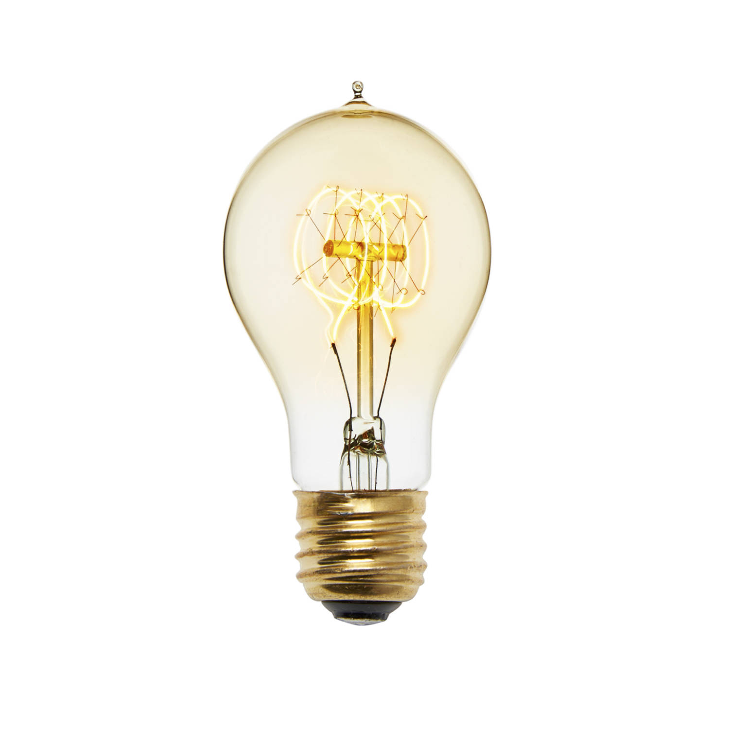 Old fashion light bulb 95