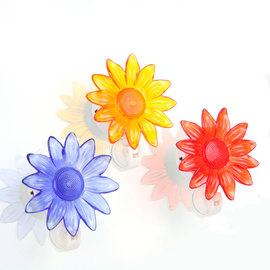 Solar Daisy Window Lights, Set of 3