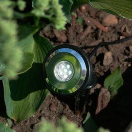 High Output Adjustable Solar Spot Lights, Set of 2