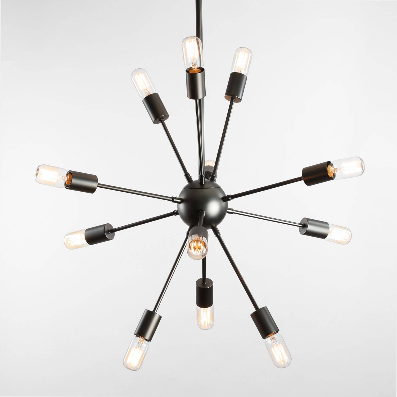Ceiling Chandeliers 12 Light Sputnik