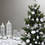 Cool White 100 LED Battery-Powered Christmas String Lights