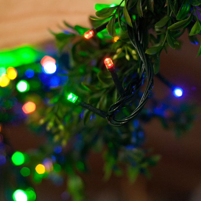 Lights.com String Lights Christmas Lights Multicolor 1100 LED Plug-in Christmas String Lights
