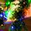 Multicolor 100 LED Solar-Powered Christmas String Lights