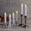 "Resin Faux Drip 7"" Taper Candles with Remote, Set of 6"
