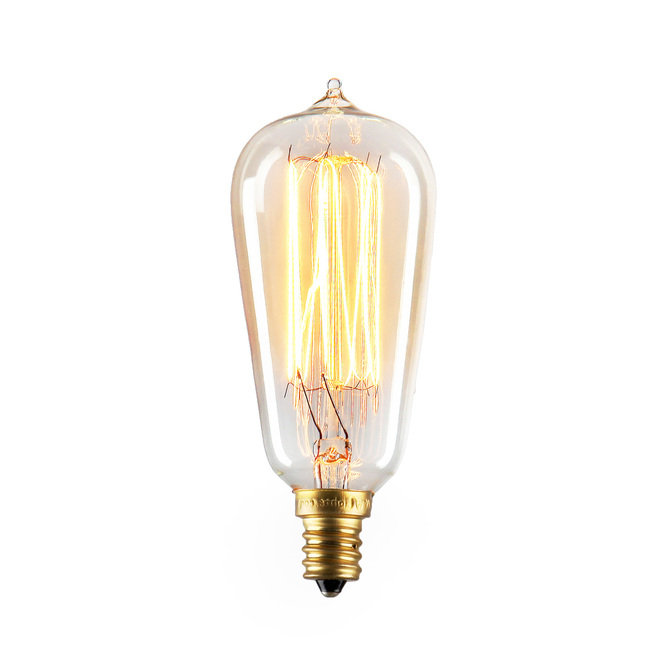 Bushwick Mini ST10 Vintage Candelabra Bulbs 40W (E12) - Set of 4