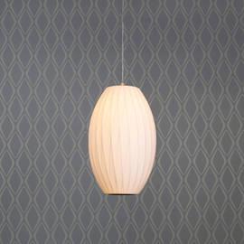 Faceted Hanging Cloth Pod Lantern Pendant