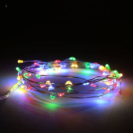 Constellation Series 50 LED Wire Battery String Lights