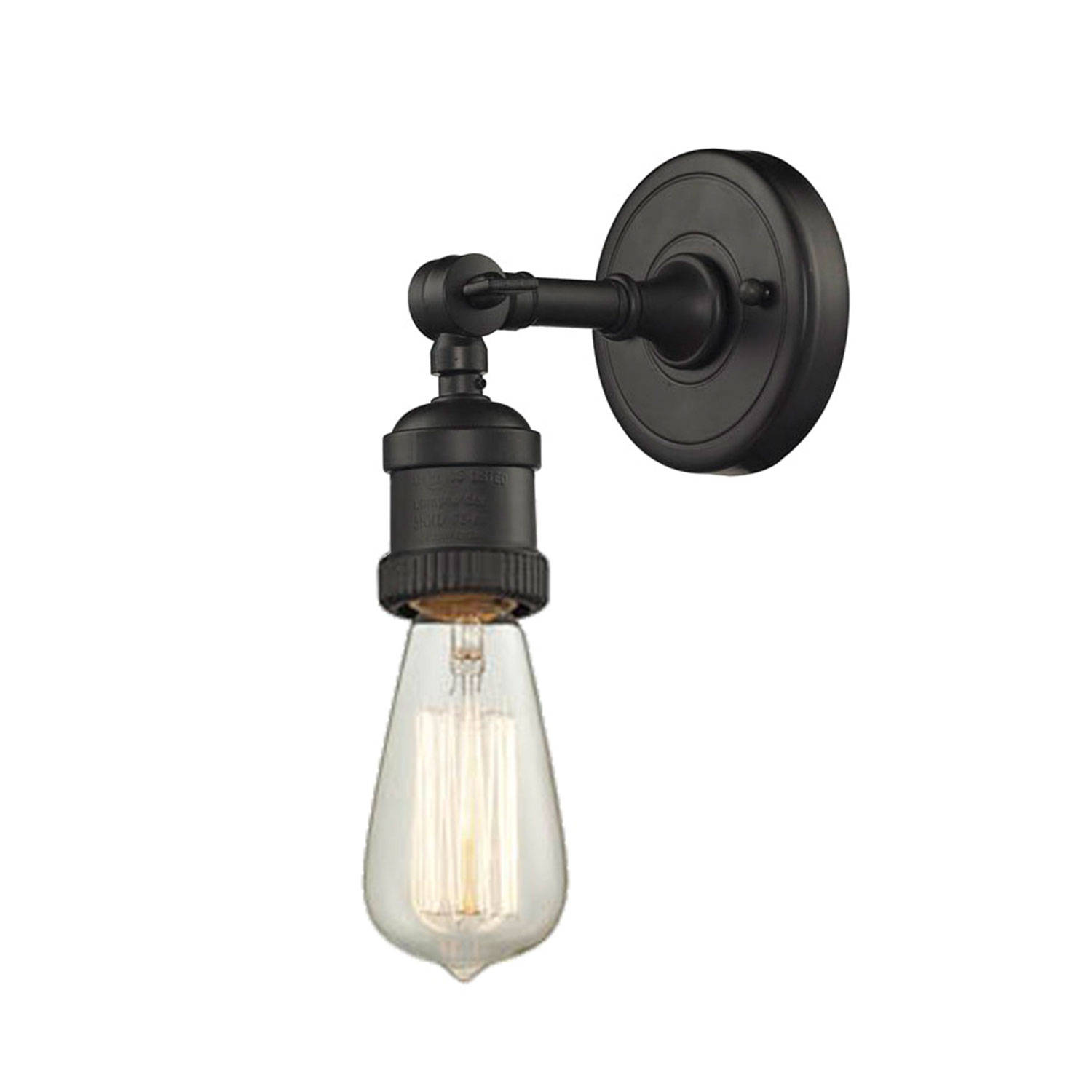 Lights.com Wall Lights Vintage Oil Rubbed Bronze Swivel Neck Wall Sconce