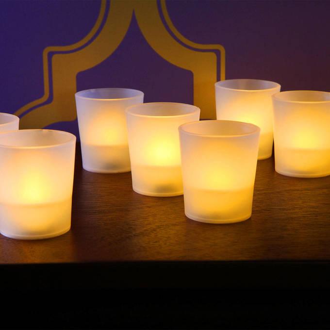 lightscom flameless candles tea lights u0026 votives flameless led party votives set of 12