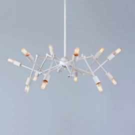 12-Light Hanging Spider Pendant