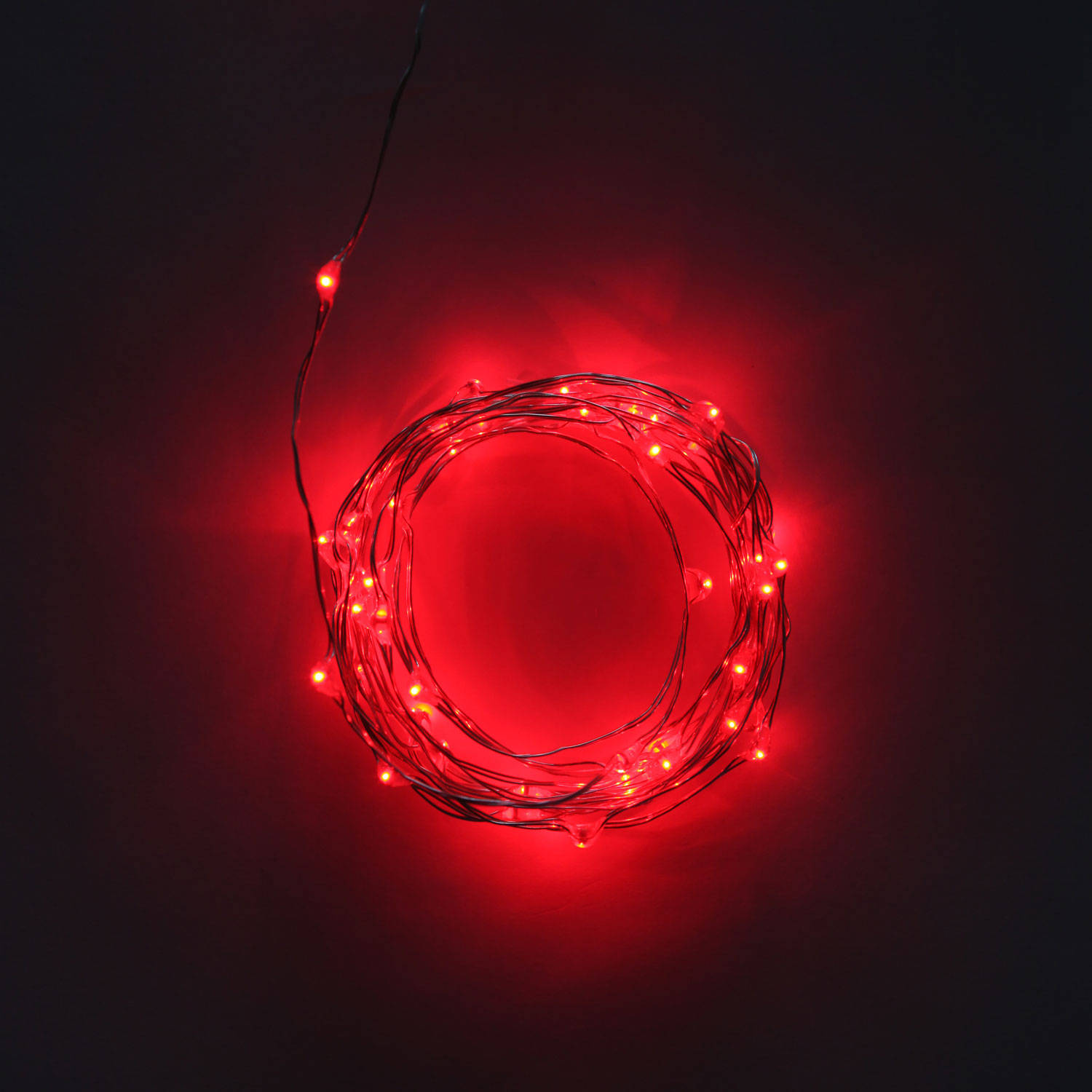 Red Bulb String Lights : Free Shipping over USD 150.