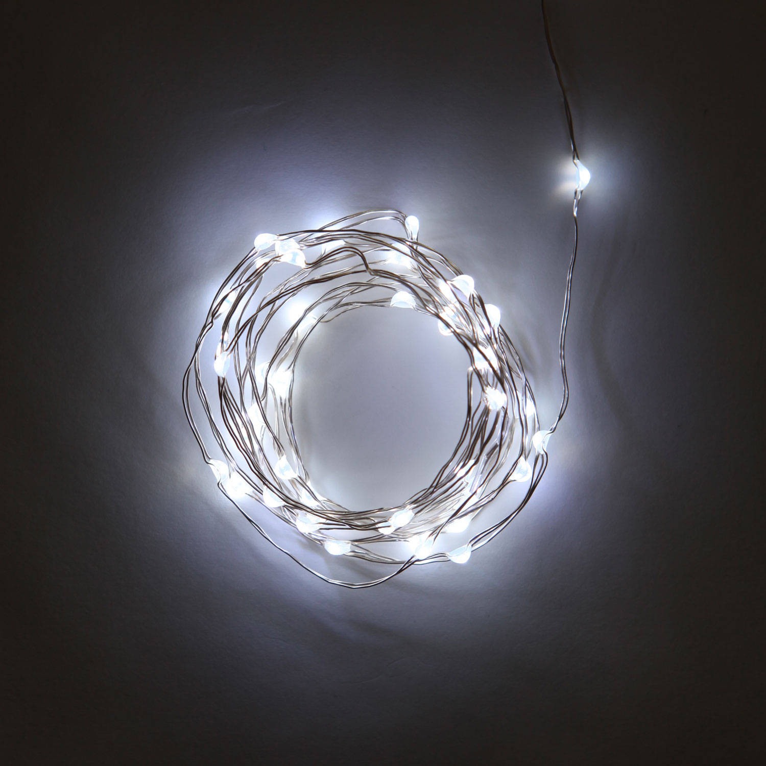 String Lights With White Wire : Free Shipping over USD 150.