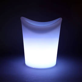 RGB Color Changing Rechargeable Ice Bucket with Remote