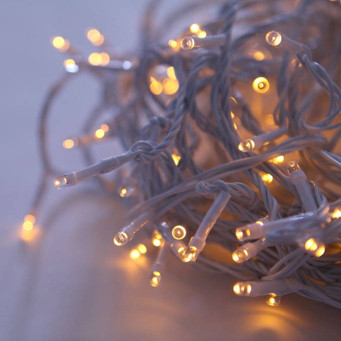 Christmas Lights White