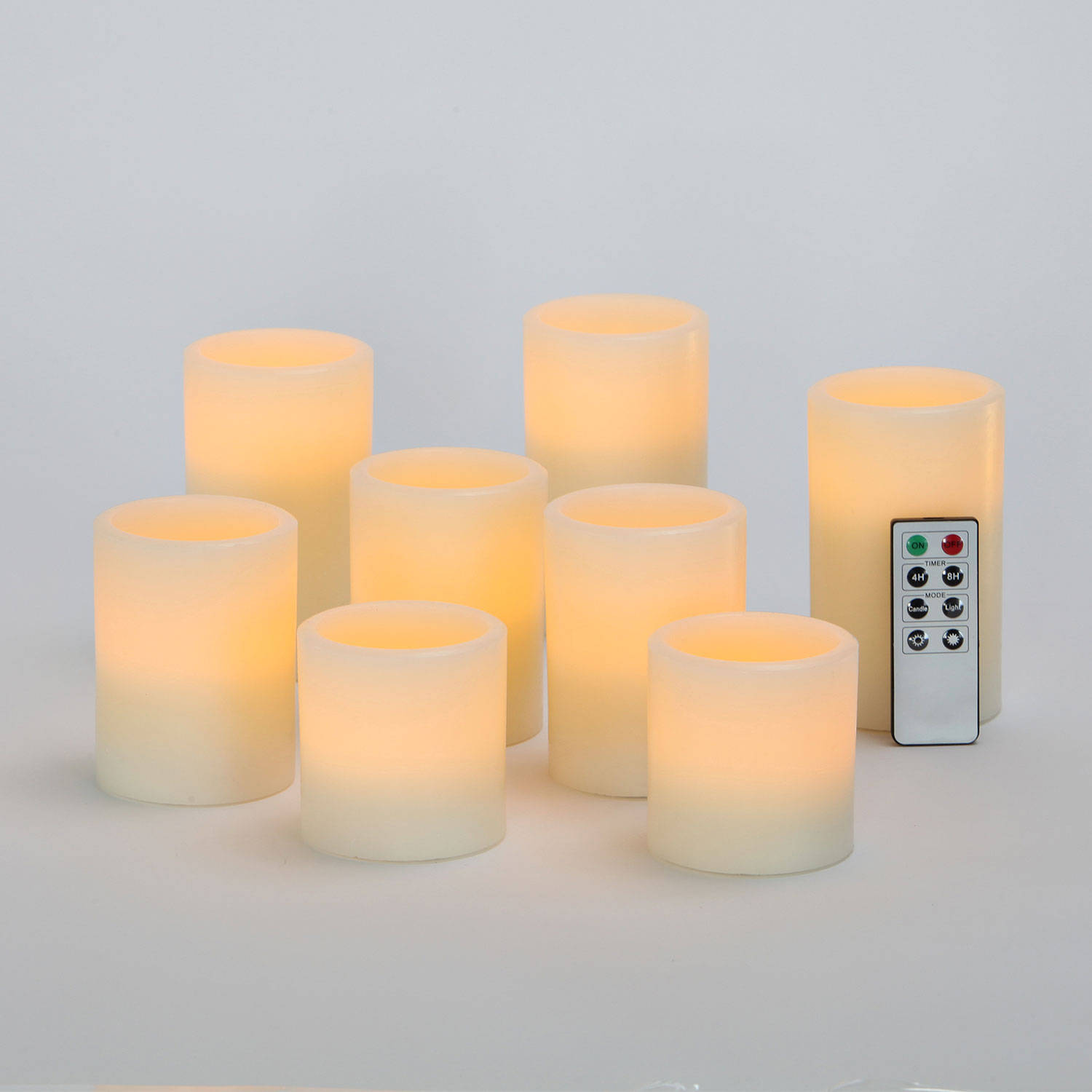 open image - Flameless Candles With Timer