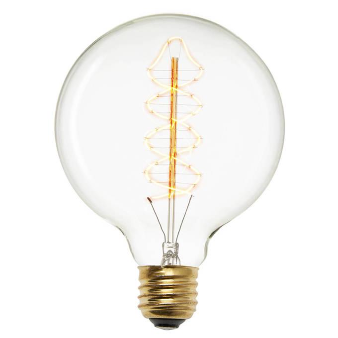 Red Hook G40 Vintage Edison Bulbs, 40W (E26) - Set of 2