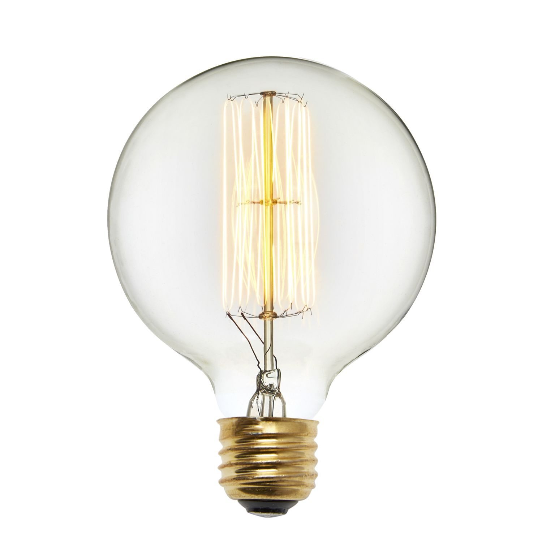 Edison Type String Lights : Lights.com Bulbs Edison Bulbs Bedford G40 Vintage Edison Bulbs, 40W (E26) - Set of 2