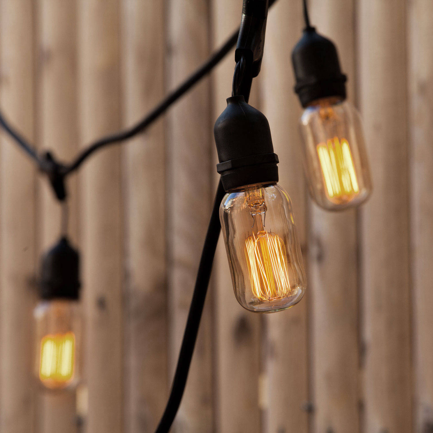 Heavy Duty Outdoor String Lights Led : Williamsburg T14 ST18 Heavy Duty 10-Socket Vintage Stringer