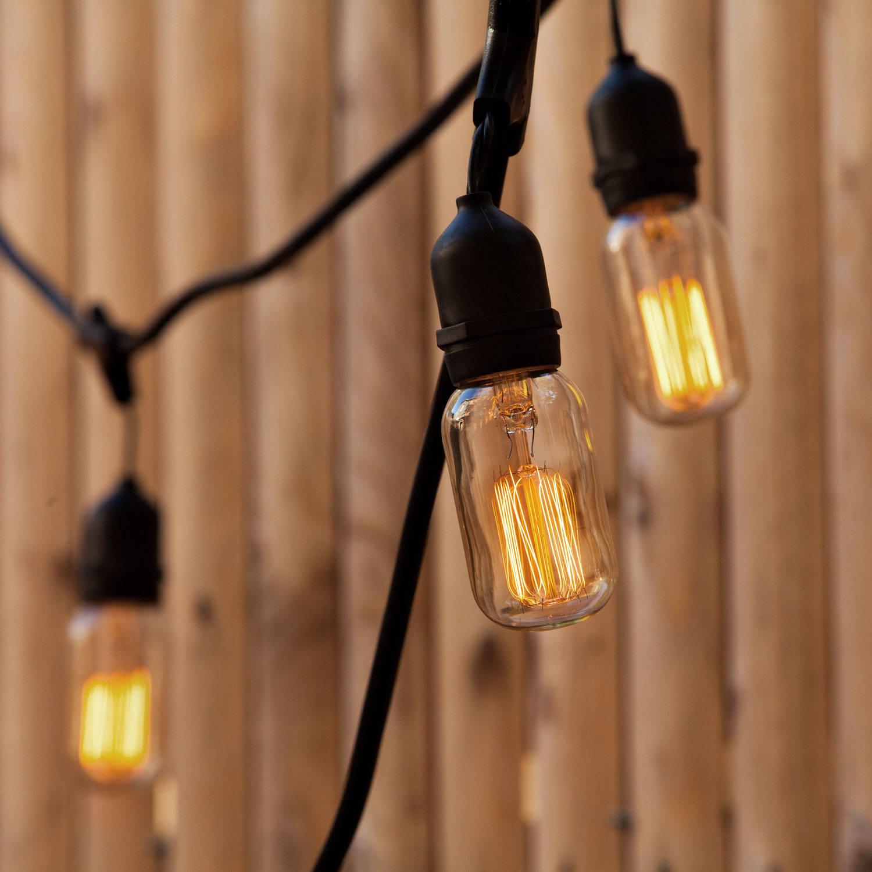 Lights.com Lit Decor String Lights Vintage String Lights Williamsburg T14 ST18 Heavy ...