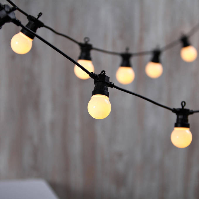 Innovative 14 Outdoor String Lights White Style