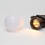 Warm White Connectable Frosted Festoon Plug-in Globe Lights, Strand of 20